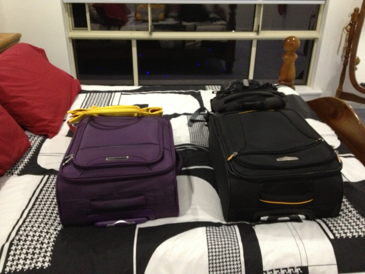 TRAVELLING LIGHT - JUST DO IT!