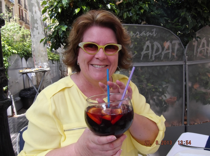 My first Sangria!